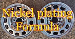 Nickel plating formula